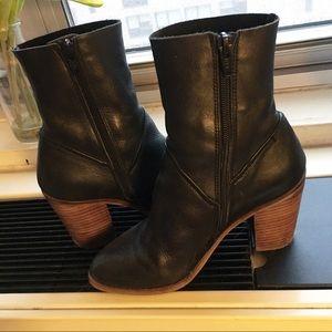 Aldo Block Heel Ankle Boots